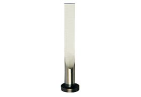 Flat ejector pin Type FAH with 4 corner radii
