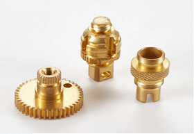 Engineering Drawing Copper CNC Turning Machine Parts