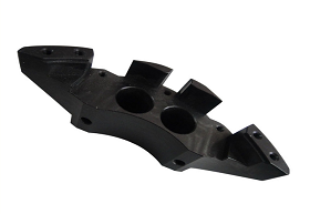Black Anodized  Aluminum CNC Machining