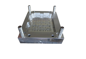 Mold base for die casting mold