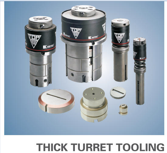 Thick Turret Tooling