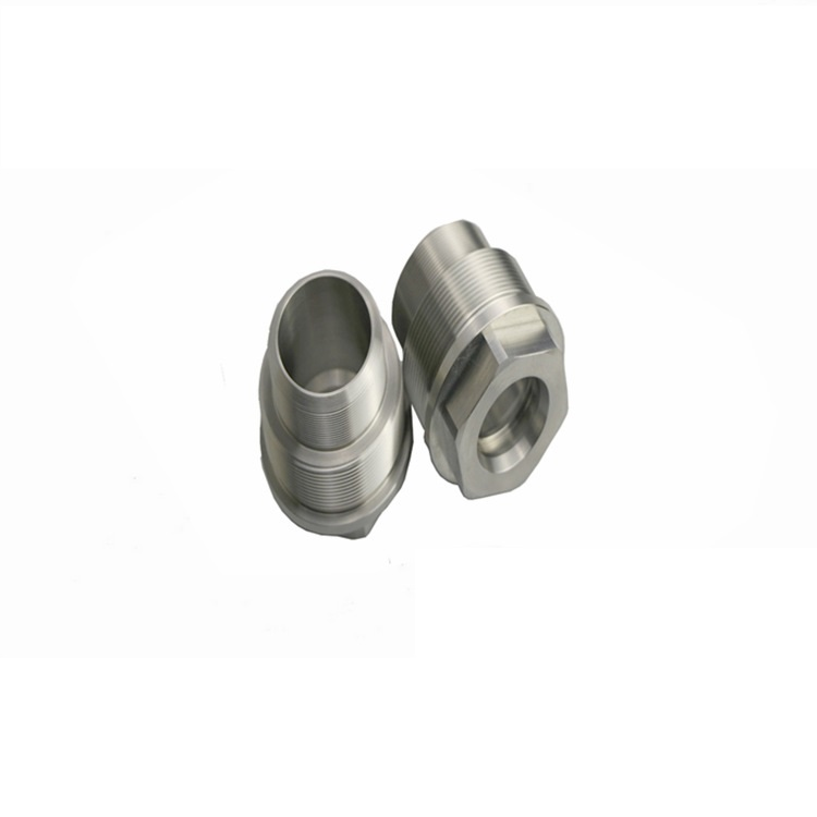 Lathe processing stainless steel 316 medical, food industry equipment parts